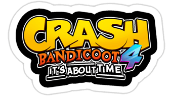 Crash Bandicoot 4: It's About Time logo